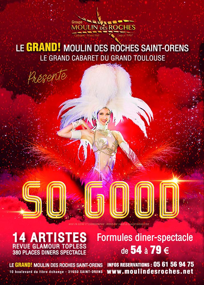 Contacter un cabaret à Toulouse, dîner-spectacle, revues, chant et humour...