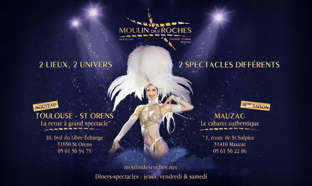 A la recherche d'un dîner spectacle en cabaret à Toulouse ? Découvrez également :