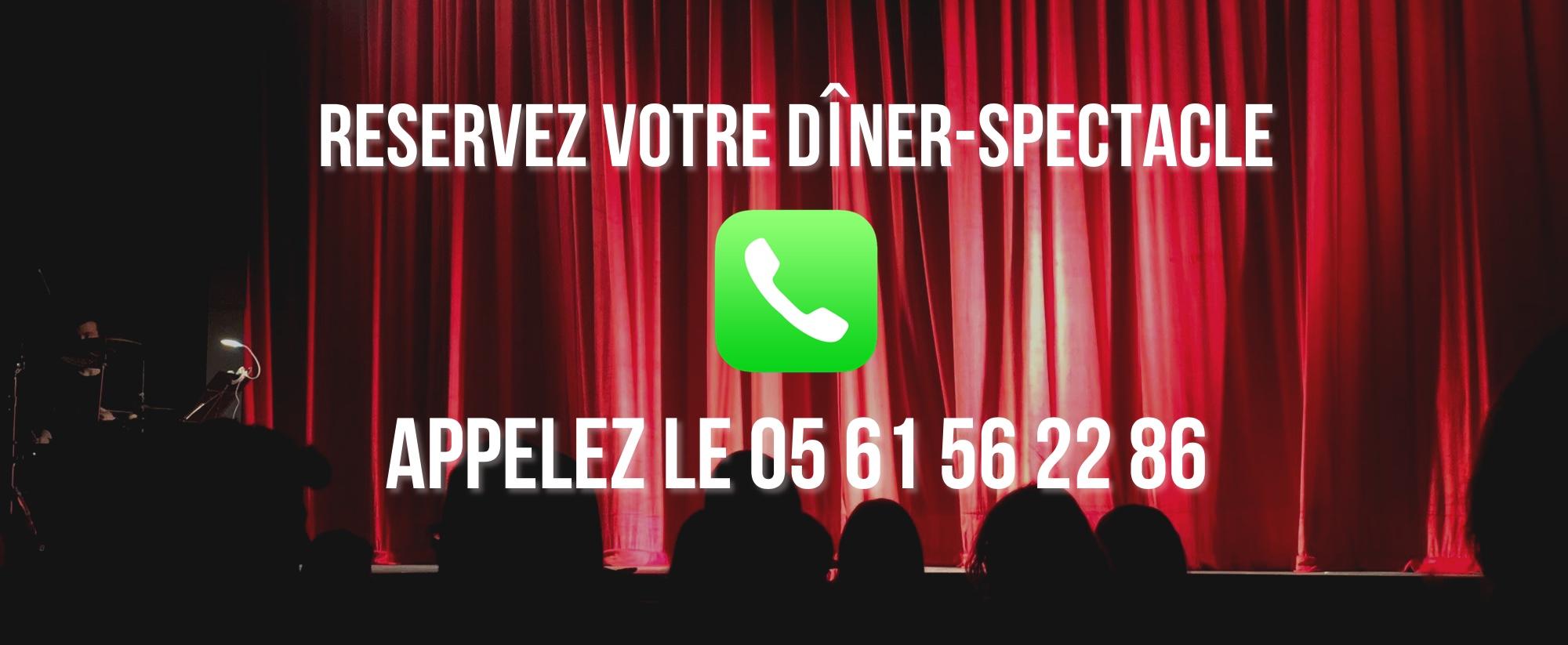 Contacter un CABARET à TOULOUSE (réservations dîner-spectacle)