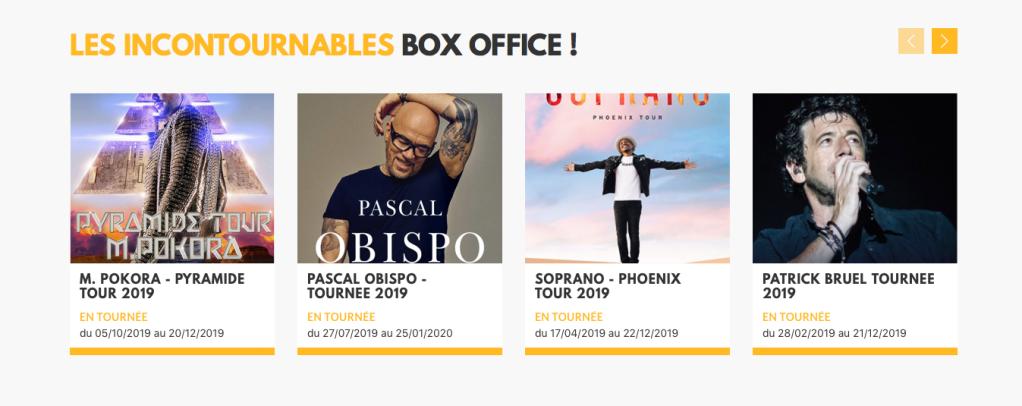 Contacter BOX OFFICE  : billetterie concerts, spectacles Box Office : toutes les coordonnées des agences (Toulouse, Bordeaux, Bayonne, Limoges)