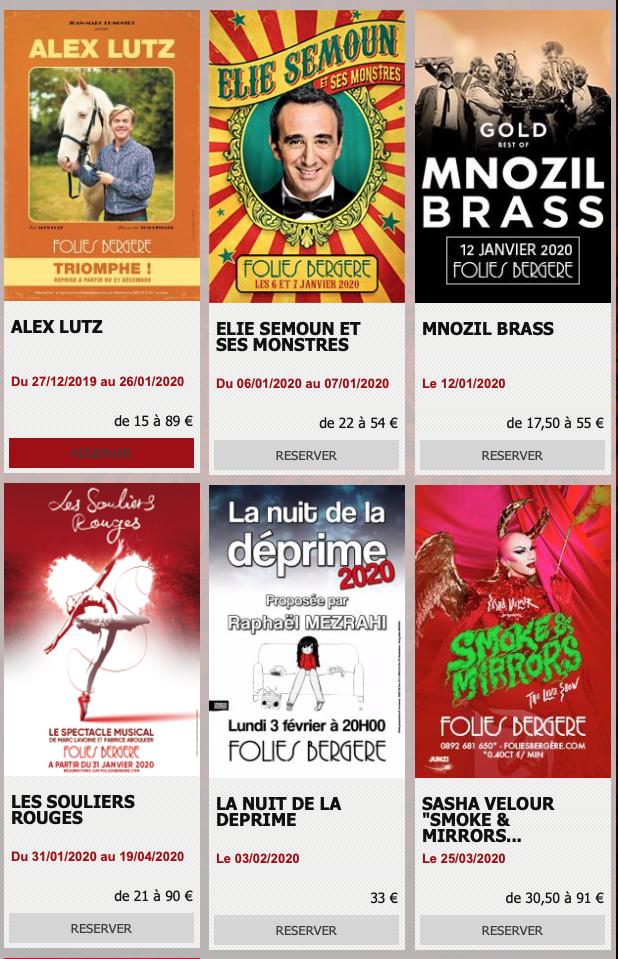 Vous pouvez également suivre toutes les actualités des Folies Bergère sur les réseaux sociaux    - Contacter les FOLIES BERGÈRE | Cabaret #FoliesBergere à Paris