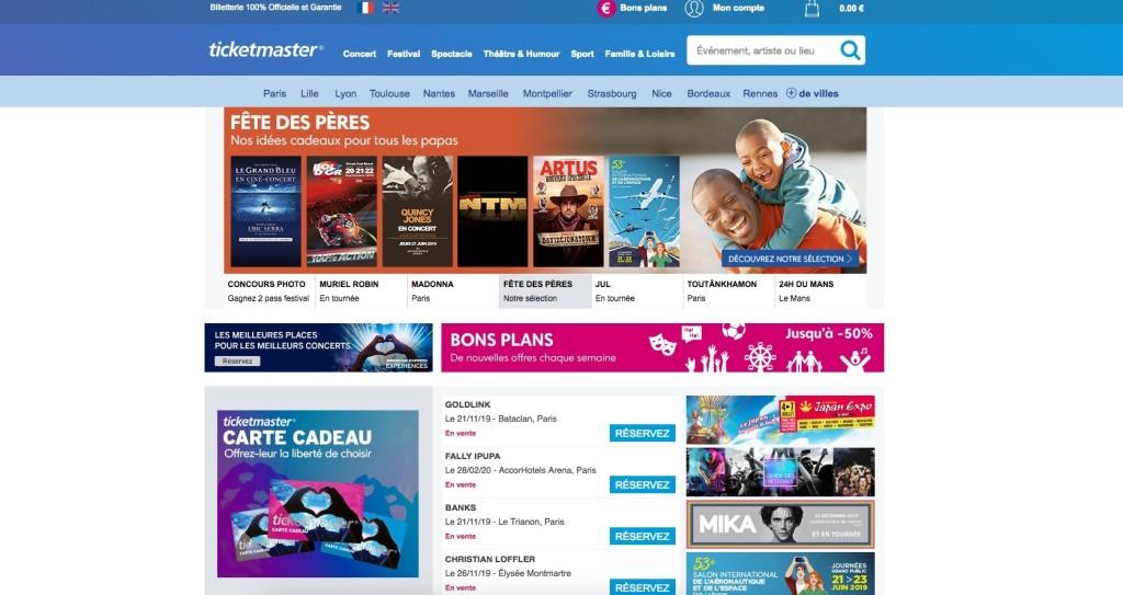 Joindre Ticketmaster : contact en ligne sur les réseaux sociaux de la billetterie (agenda, prix des places, programmation, etc) - Contacter #TICKETMASTER | Billetterie, places de spectacles