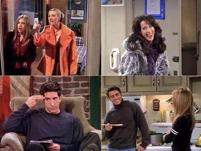 Friends : êtes-vous un(e) véritable fan de la série ? Retrouvez les répliques cultes de la série Friends qui correspondent aux images.
