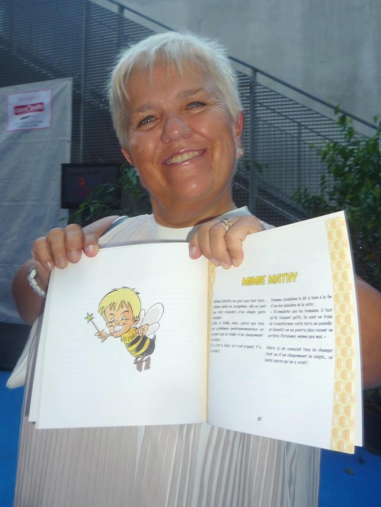 Contacter MIMIE MATHY | Écrire à #MimiMathy