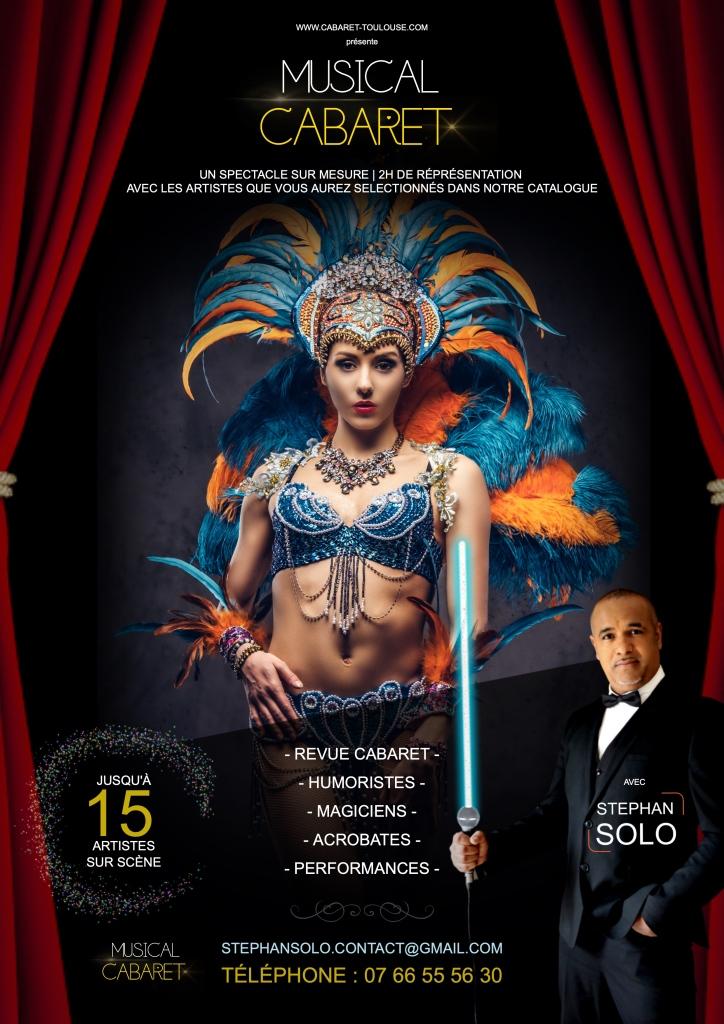 Musical cabaret - spectacle humour et revue (camping, cabaret)